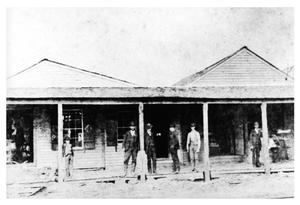 Primary view of object titled '[Hewson Drug Store]'.