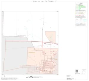 Primary view of object titled '2000 Census County Block Map: Fannin County, Inset B03'.