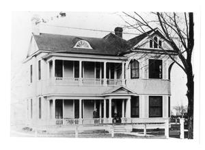 Primary view of object titled '[E.L. Reid home]'.