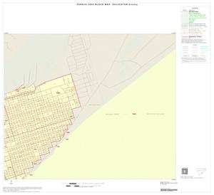 Primary view of object titled '2000 Census County Block Map: Galveston County, Inset G02'.