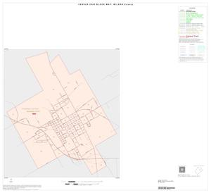 Primary view of object titled '2000 Census County Block Map: Wilson County, Inset C01'.
