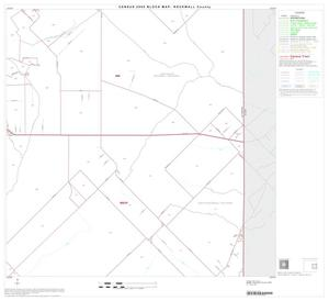 Primary view of object titled '2000 Census County Block Map: Rockwall County, Block 6'.
