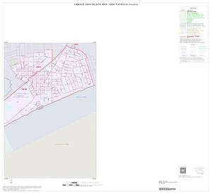 Primary view of object titled '2000 Census County Block Map: San Patricio County, Inset J02'.