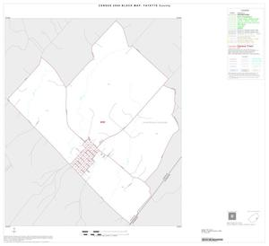 Primary view of object titled '2000 Census County Block Map: Fayette County, Inset E01'.