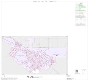 Primary view of object titled '2000 Census County Block Map: Bailey County, Inset A01'.