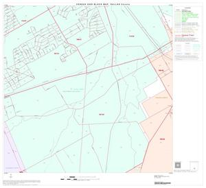 Primary view of object titled '2000 Census County Block Map: Dallas County, Block 76'.
