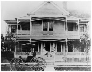 Primary view of object titled '[The Reeves House]'.