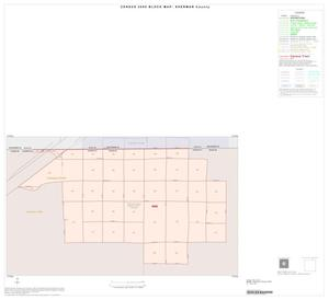 Primary view of object titled '2000 Census County Block Map: Sherman County, Inset A01'.