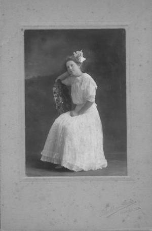 Primary view of object titled '[Lizzie Wessendorff as a young girl, c. 1910.]'.