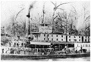 Primary view of object titled '[Steamboat Laura]'.