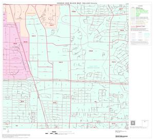 Primary view of object titled '2000 Census County Block Map: Dallas County, Block 15'.