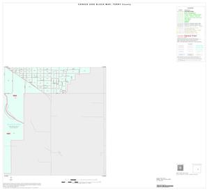 Primary view of object titled '2000 Census County Block Map: Terry County, Inset B04'.