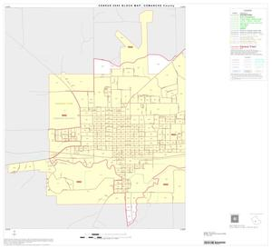 Primary view of object titled '2000 Census County Block Map: Comanche County, Inset C01'.
