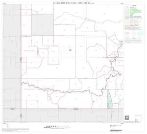 Primary view of object titled '2000 Census County Block Map: Hansford County, Block 7'.