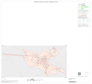 Primary view of object titled '2000 Census County Block Map: Burnet County, Inset D01'.