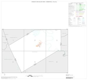 Primary view of object titled '2000 Census County Block Map: Somervell County, Index'.