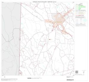Primary view of object titled '2000 Census County Block Map: Newton County, Block 5'.