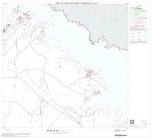 Primary view of object titled '2000 Census County Block Map: Angelina County, Block 18'.
