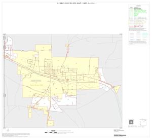 Primary view of object titled '2000 Census County Block Map: Cass County, Inset F01'.