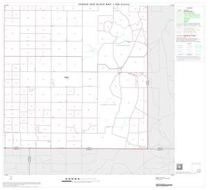 Primary view of object titled '2000 Census County Block Map: Lynn County, Block 9'.