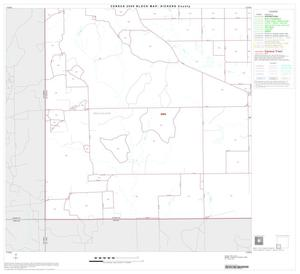 Primary view of object titled '2000 Census County Block Map: Dickens County, Block 7'.