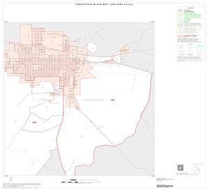 Primary view of object titled '2000 Census County Block Map: San Saba County, Inset B03'.