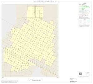 Primary view of object titled '2000 Census County Block Map: Wichita County, Inset B01'.
