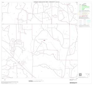 Primary view of object titled '2000 Census County Block Map: Crockett County, Block 11'.