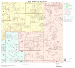 Primary view of object titled '2000 Census County Block Map: Dallas County, Block 17'.