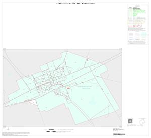Primary view of object titled '2000 Census County Block Map: Milam County, Inset D01'.