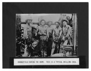 Primary view of object titled 'Oil Drilling Crew'.