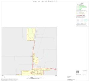Primary view of object titled '2000 Census County Block Map: Runnels County, Inset A01'.