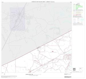 Primary view of object titled '2000 Census County Block Map: Liberty County, Block 2'.