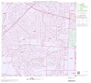 Primary view of object titled '2000 Census County Block Map: Tarrant County, Block 74'.