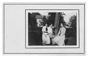 Primary view of object titled 'Grace and Hazel Reeves with Friend'.