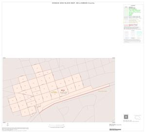 Primary view of object titled '2000 Census County Block Map: Williamson County, Inset M01'.