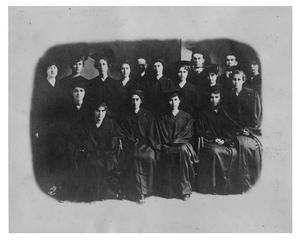 Primary view of object titled 'Graduating Class'.