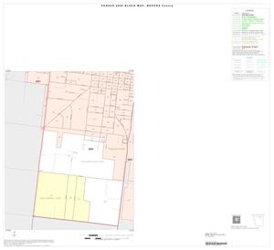 Primary view of object titled '2000 Census County Block Map: Brooks County, Inset A03'.