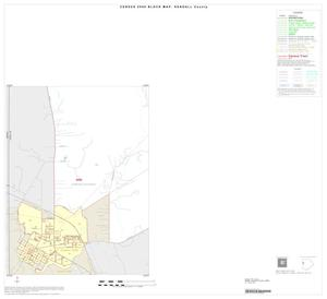 Primary view of object titled '2000 Census County Block Map: Kendall County, Inset A05'.