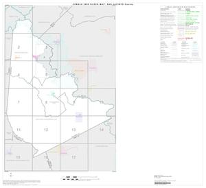 Primary view of object titled '2000 Census County Block Map: San Jacinto County, Index'.