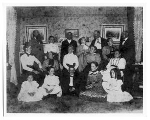 Primary view of object titled 'Henry Jacob Lutcher and Family'.