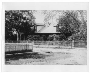 Primary view of object titled 'Home of Dr. David Caldwell Hewson'.