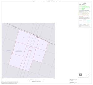 Primary view of object titled '2000 Census County Block Map: Williamson County, Inset B01'.