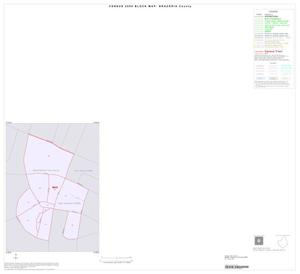 Primary view of object titled '2000 Census County Block Map: Brazoria County, Inset O01'.