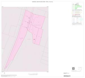 Primary view of object titled '2000 Census County Block Map: Bell County, Inset A01'.