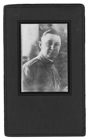 Primary view of object titled 'Colonel in World War 1 Uniform'.