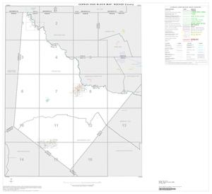 Primary view of object titled '2000 Census County Block Map: Reeves County, Index'.