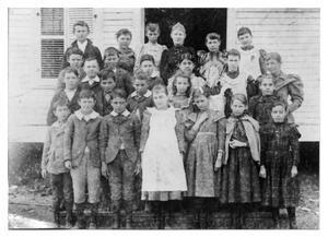 Primary view of object titled 'School Children in 1894'.