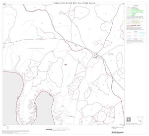 Primary view of object titled '2000 Census County Block Map: Val Verde County, Block 18'.