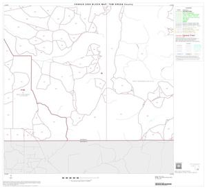 Primary view of object titled '2000 Census County Block Map: Tom Green County, Block 26'.